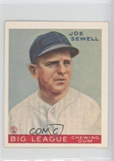 Joe Sewell (Baseball Card) 1977 Dover Classic Baseball Cards Reprints - [Base] #JOSE