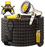 Best Expandable Garden Hoses - 2018 Expandable Garden Hose 50Ft Extra Strong – Review