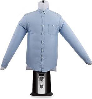 Oneconcept ShirtButler Clean Edition - Secador de Camisas automático, 2 en 1: Seca y Plancha, Maniquí de Planchado, Aire f...