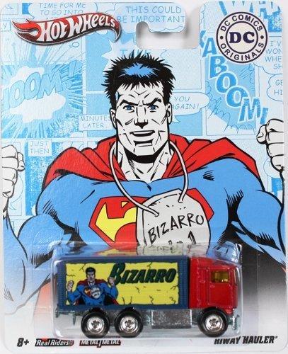 Hot Wheels Bizarro HIWAY Hauler DC Comics Originals 2011 Nostalgia Series 1:64 Scale Superman Die-Cast Vehicle