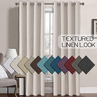 color blocked drapes