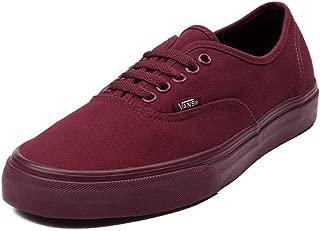 Vans(バンズ)Authentic Skate Shoe Burgundy/Mono Men's 7.5/Women's 9 靴 スケートシューズ [並行輸入品]