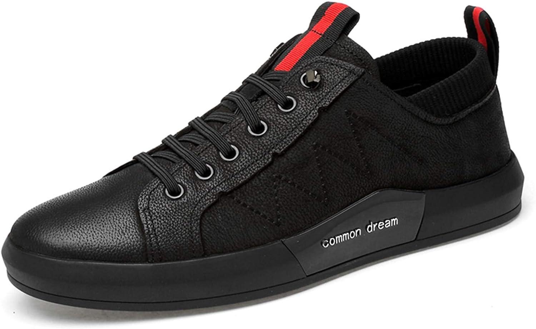 schuhe house Herren LederTurnschuhe Rutschfeste Schuhe Schuhe Schuhe schwarz Oxford Schuhe Größe 38-44  c31c5b