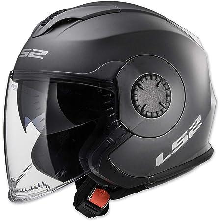 LS2 Helmets Open Face Verso Helmet (Matte Titanium - Medium)