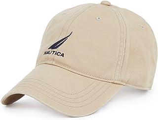 قبعة نوتيكا للرجال قابلة للتعديل (مقاس واحد، بيج فاتح)