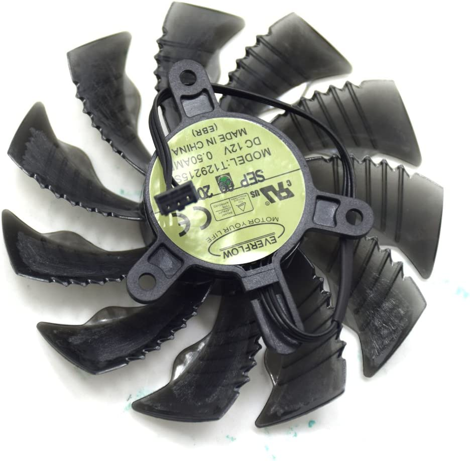 Replacement Washington Mall Video Online limited product Card Cooling Fan GTX1050G GTX970 for GT GTX960