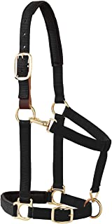 Weaver Leather Padded Breakaway Adjustable Chin & Throat Snap Halter, 1