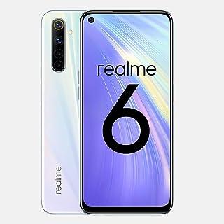 RealMe 6 128GB + 4GB RMX2001 6.5インチ デュアルSim 4G LTE Helio G970T プロセッサー クアッドカメラ インターナショナル バージョン 保証なし (GSMのみ、CDMAではありません) (コメ...