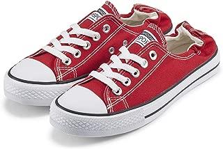 Women's Low Top Sneaker Fashion Lace up Canvas Shoes Classic Walking Shoes