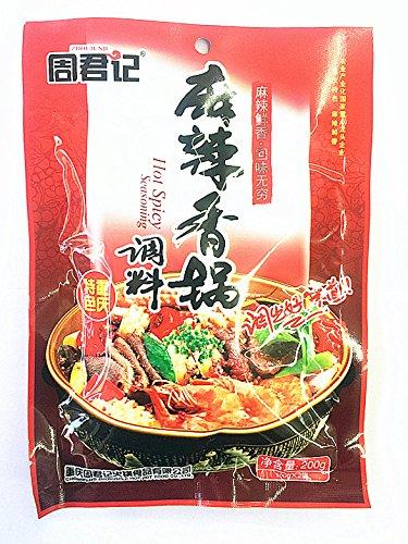 新商品 中国名物 周君記麻辣香鍋調料 鍋の素 辛口 中華調味料 中華物産  200g