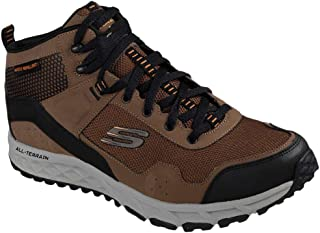 Skechers Men's Escape Plan Sly Goose Outdoor Shoes Brown/Black