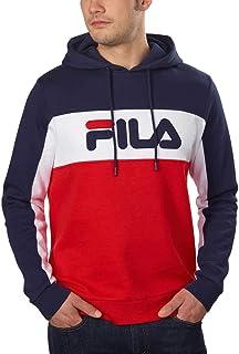 Fila Mens Logo Fleece Hoodie