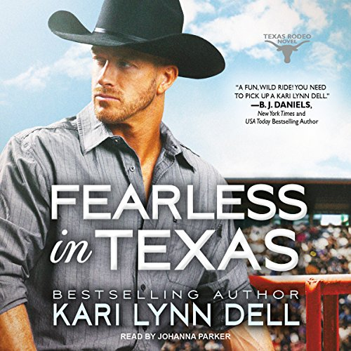 Fearless in Texas audiobook cover art