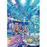 1000ピース ジグソーパズル ディズニー ナイトアクアリウム【光るパズル】(51x73.5cm)