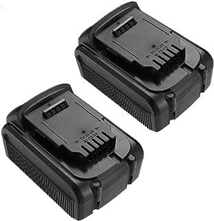5500mAh Dewalt 20V Battery for Dewalt 20V MAX Battery Dewalt DCB204 DCB205 DCB206 DCB205-2 DCB200 DCB180 DCD985B DCD771C2 DCS355D1 DCD790B 2Pack