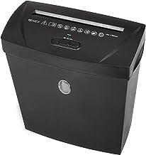 Genie 180X–Destructora de papel (hasta 7hojas a la vez, microcorte, incluye papelera), color negro