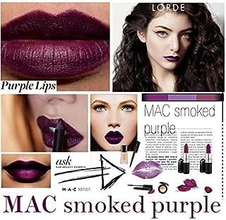 MAC Matte Lipstick SMOKED PURPLE