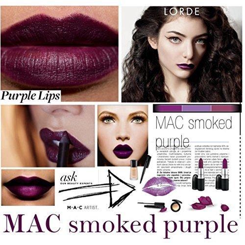 MAC Matte Lipstick, Smoked Purple, 1er Pack (1 x 3 g)