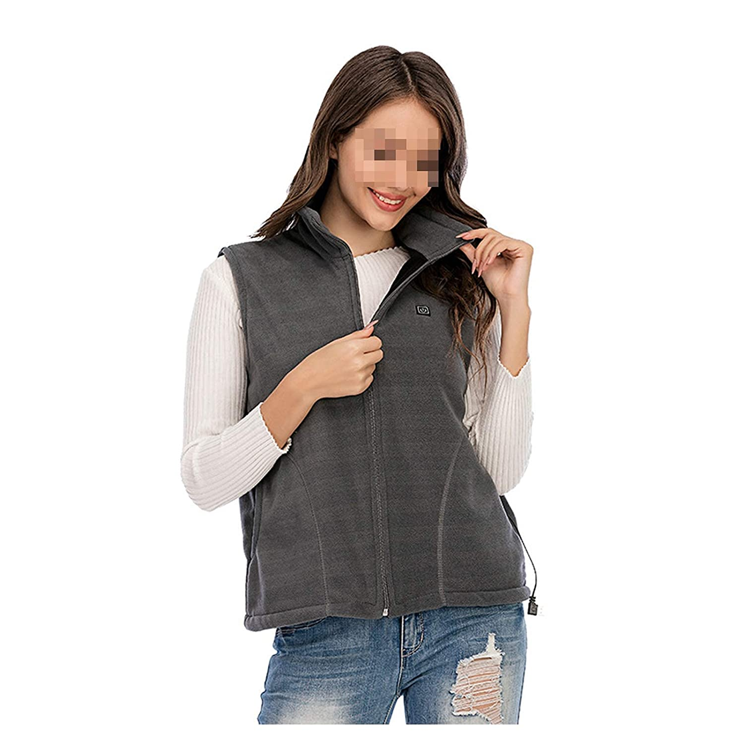 Electric Warm Gilet Max 66% OFF with 3 USB Temperature Phoenix Mall Adjustable Rechargeab