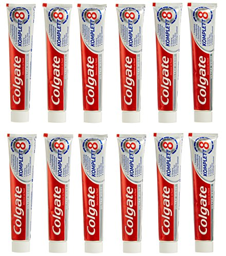 Colgate Volledige tandpasta Ultra White, 12 x 75 ml