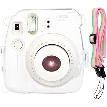 With Strap Lightweight Protective Transparent Camera Case For Instax Mini 8 9