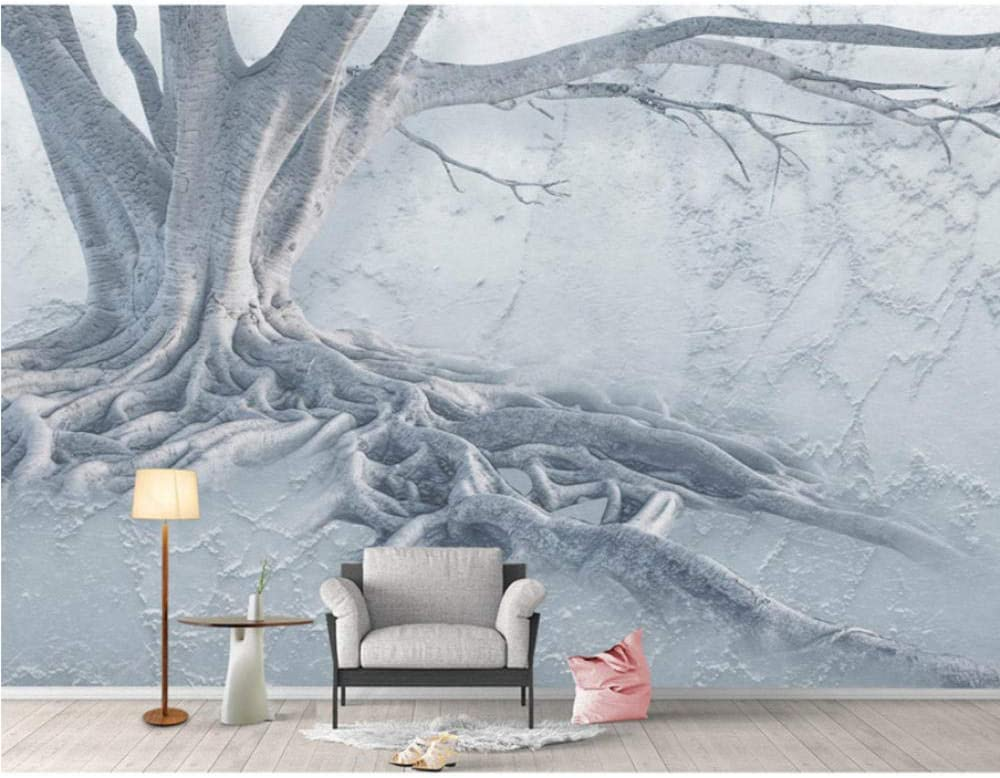 3D In a popularity Wall Paper Big Tree Root Wallpaper Mural Room All stores are sold Living Be Photo