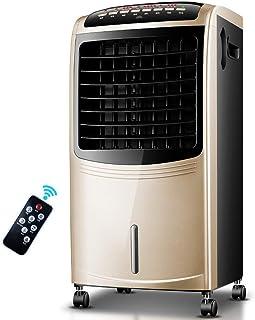 BD.Y Ventilador de Aire Acondicionado Refrigerador de Aire frío Individual Humidificador Refrigeración 80W con Control Remoto, Tres Engranajes Ajustables, Tanque de Agua Grande de 6.5L