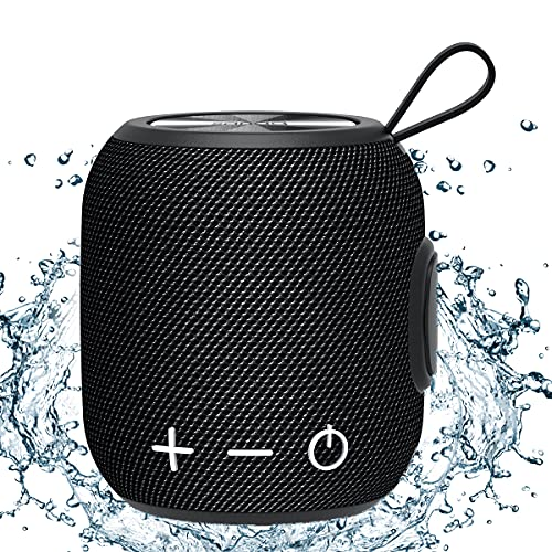 Bluetooth Speaker, SANAG M7 Plus Portable Speakers, Bluetooth 5.0 Dual Pairing Bass Wireless Speaker, Loud Stereo, IPX7 Waterproof, 30H Playtime for Outdoors, Travel, Home and Party