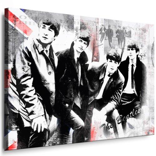 fotoleinwand24 Leinwandbild Beatles Lennon - Bild 100x70cm k. Poster ! Bild fertig auf Keilrahmen ! Pop Art Gemälde Kunstdrucke, Wandbilder - Bilder zur Dekoration/Deko. Musik - Stars Kunstdrucke