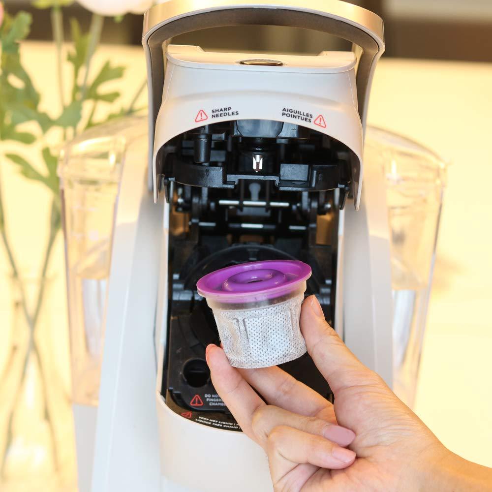 Vasos desechables para su uso en cafeteras Keurig – tazas simples – 100 tazas, 10 tapas – Usa tu propio café en K-tazas: Amazon.es: Hogar
