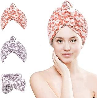 Best cotton hair towel Reviews
