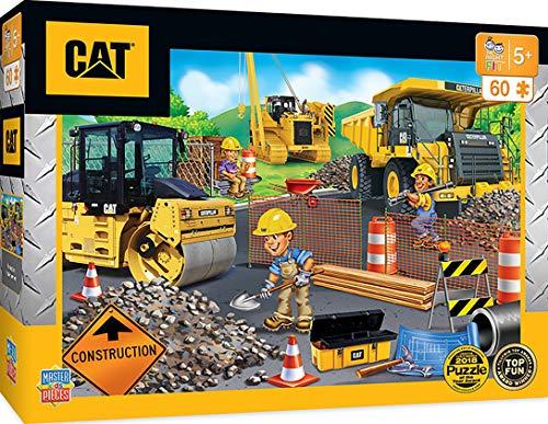MasterPieces Caterpillar - Parking Lot 60Pc Puzzle, Assorted