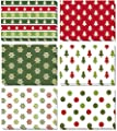 SUPHOUSE Christmas Cards Bulk Boxed Set, Assortment Design for Happy Holiday Greetings, Blank On the Inside, Envelopes and Stickers Included