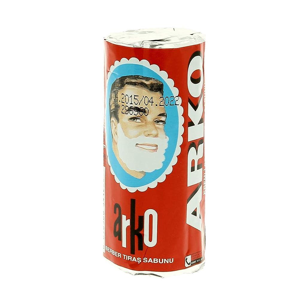 スライスメールを書く天皇Arko アルコ シェービングクリームソープスティック75g[海外直送品]Arko Shaving Cream Soap Stick 75g [並行輸入品]