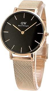 【国内正規品】ダニエルウェリントン Daniel Wellington 腕時計 Classic PETITE/クラシック ペティット レディース ローズゴールド x ブラック 32mm メッシュベルト DW00100161