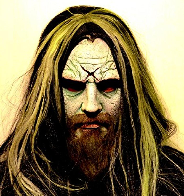 Mask Head Rob Zombie Body Part Halloween Prop Headless