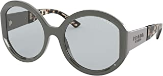 Prada PRADA MONOCHROME PR 22XS Grey/Light Grey 55/20/140 women Sunglasses