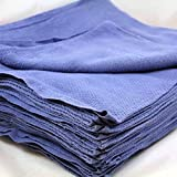 Globe House Product GHP Pack of 36 Cotton 15x25 Huck Cleaning Absorbent/Lintless Shop Cloth Towels