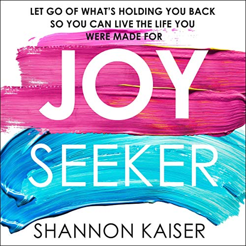 Joy Seeker audiobook cover art