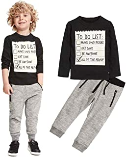 Jobakids Boys 2 Pieces Set Boys Cotton Clothing Set