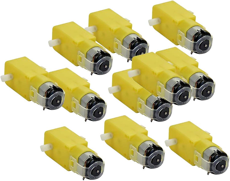 F Fityle 120 Stück 3-12V DC Getriebemotor Drehgeschwindigkeit  1 48 Für Spielzeugmodelle DIY Roboter