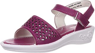 Bubblegummers Girl's Laser Princes Sandal Fashion