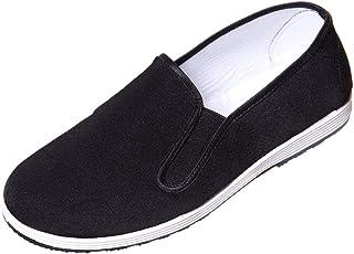 comprar comparacion DoGeek-Zapatillas Kung fu Zapatos Kung fu Unisex Zapatillas de Artes Marciales (Negro)