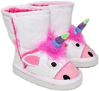 Millffy Botas de invierno con diseño de animales para niños | Botas de criatura para niños y niñas