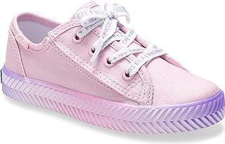 Keds Kids' Kickstart Herringbone Messaging Jr. Sneaker