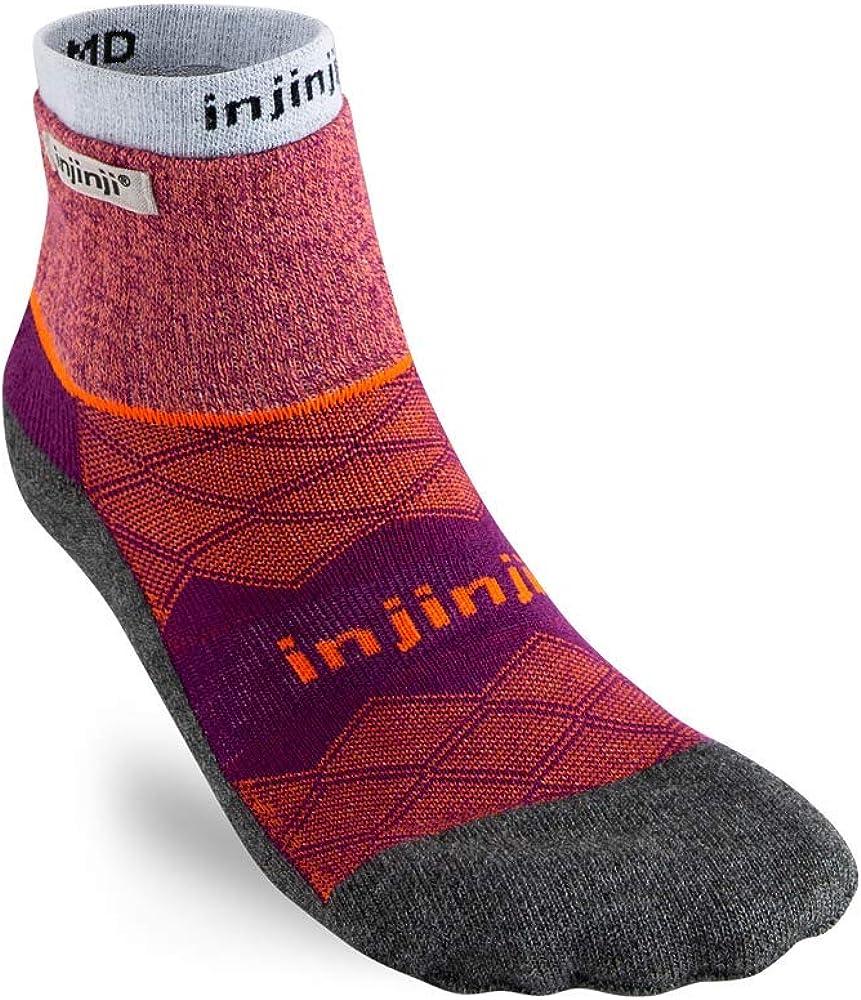 Injinji Womens Liner Runner Mini Crew Sock Running Socks