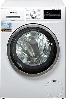西门子(SIEMENS) WD12G4R01W 8公斤 洗烘一体 全自动滚筒 变频洗衣机 一机多用 即洗即穿(亚马逊自营商品, 由供应商配送)
