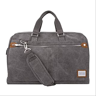 Travelon Anti-Theft Heritage Lg. Carryall Weekender Bag Gray One Size