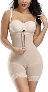 YOUCOO Women Seamless Firm Control Shapewear Faja Open Bust Bodysuit Body Shaper