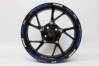 BIKE label 710003 VA Felgenrand Aufkleber Racing 1000 Blau